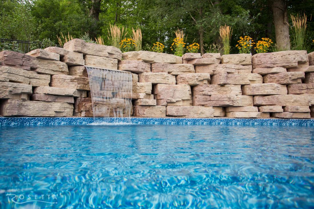 Inground Custom Pool Designer Troy Mi Tango Pool